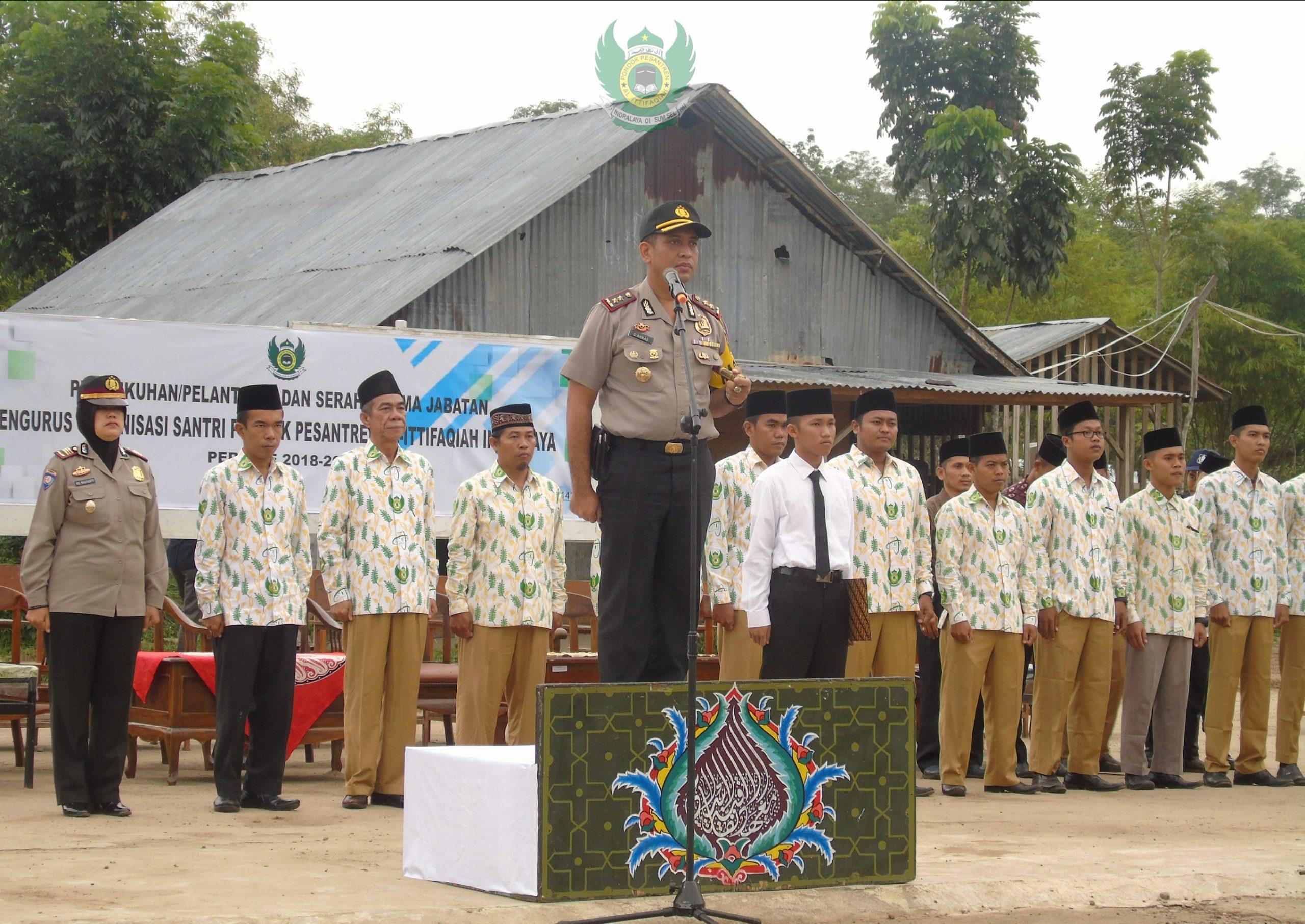 Kapolres Ogan Ilir jadi Pembina Upacara Bendera