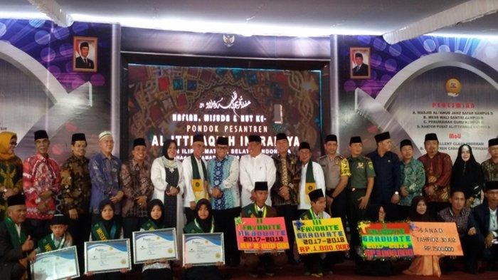 Ponpes Al-Ittifaqiah Inderalaya Wisuda 1.256 Lulusan Kelas Akhir Berbagai Tingkatan Pendidikan