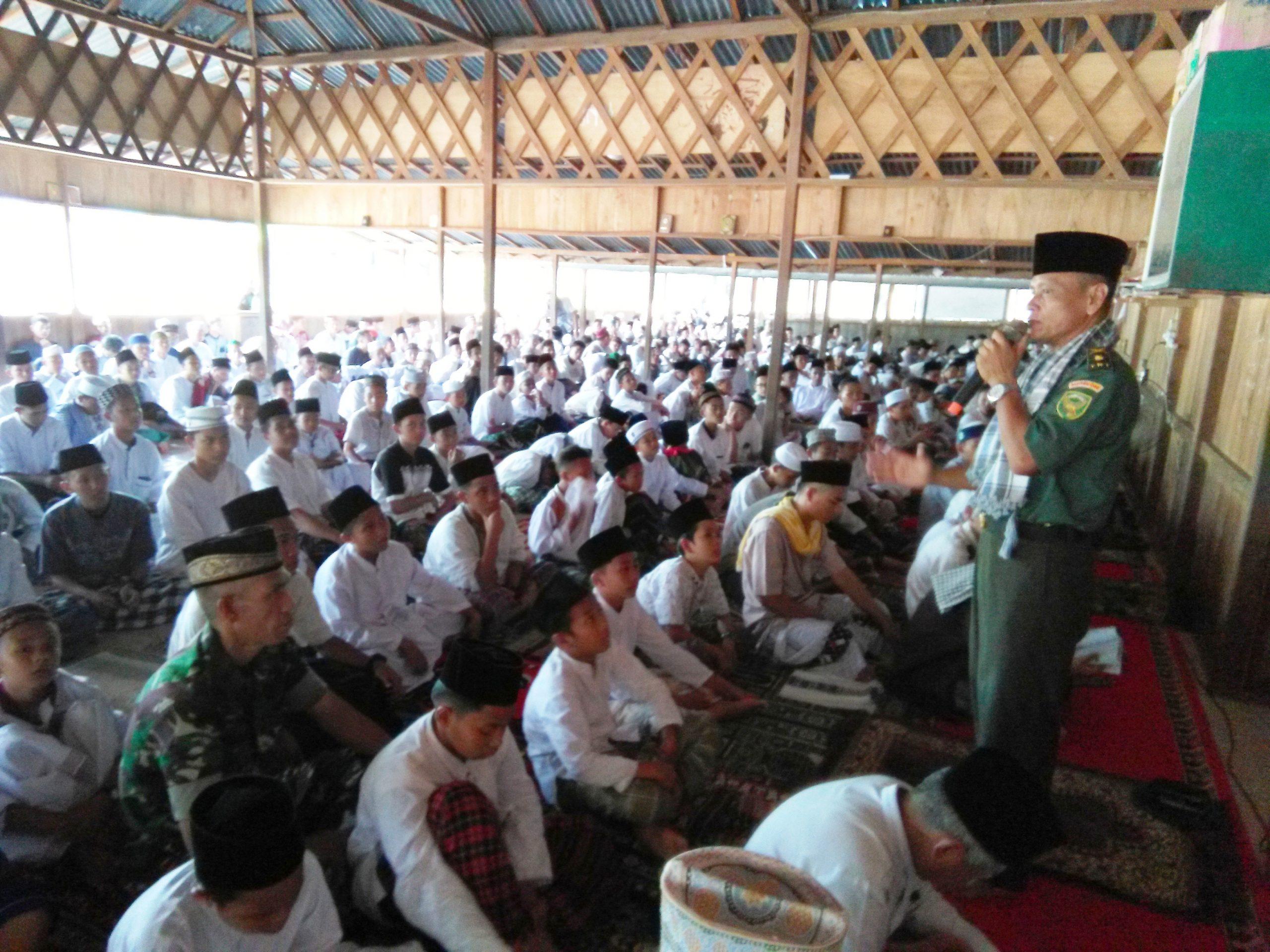 Pangdam II Sriwijaya Kunjungi Al-Ittifaqiah