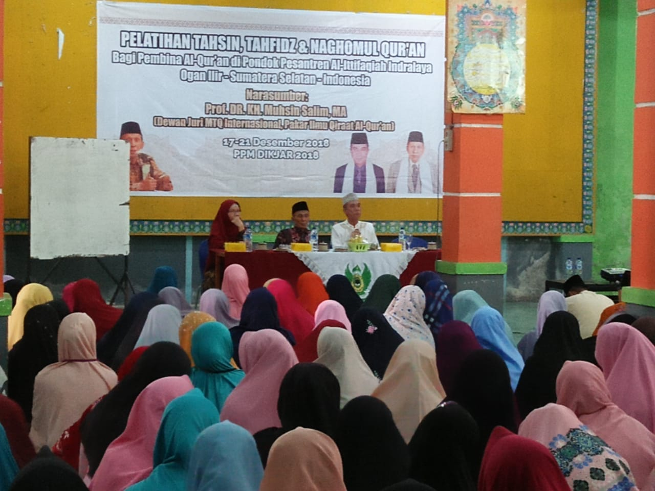 Pakar Ilmu Qiraat Adakan Pelatihan di PPI
