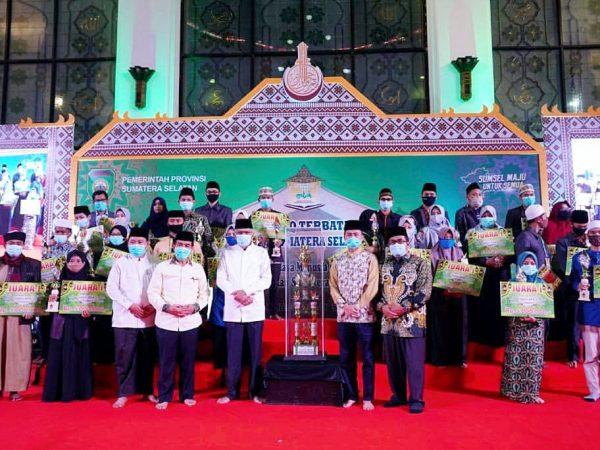 PPI Juara Umum MTQ Provinsi Sumsel 2020