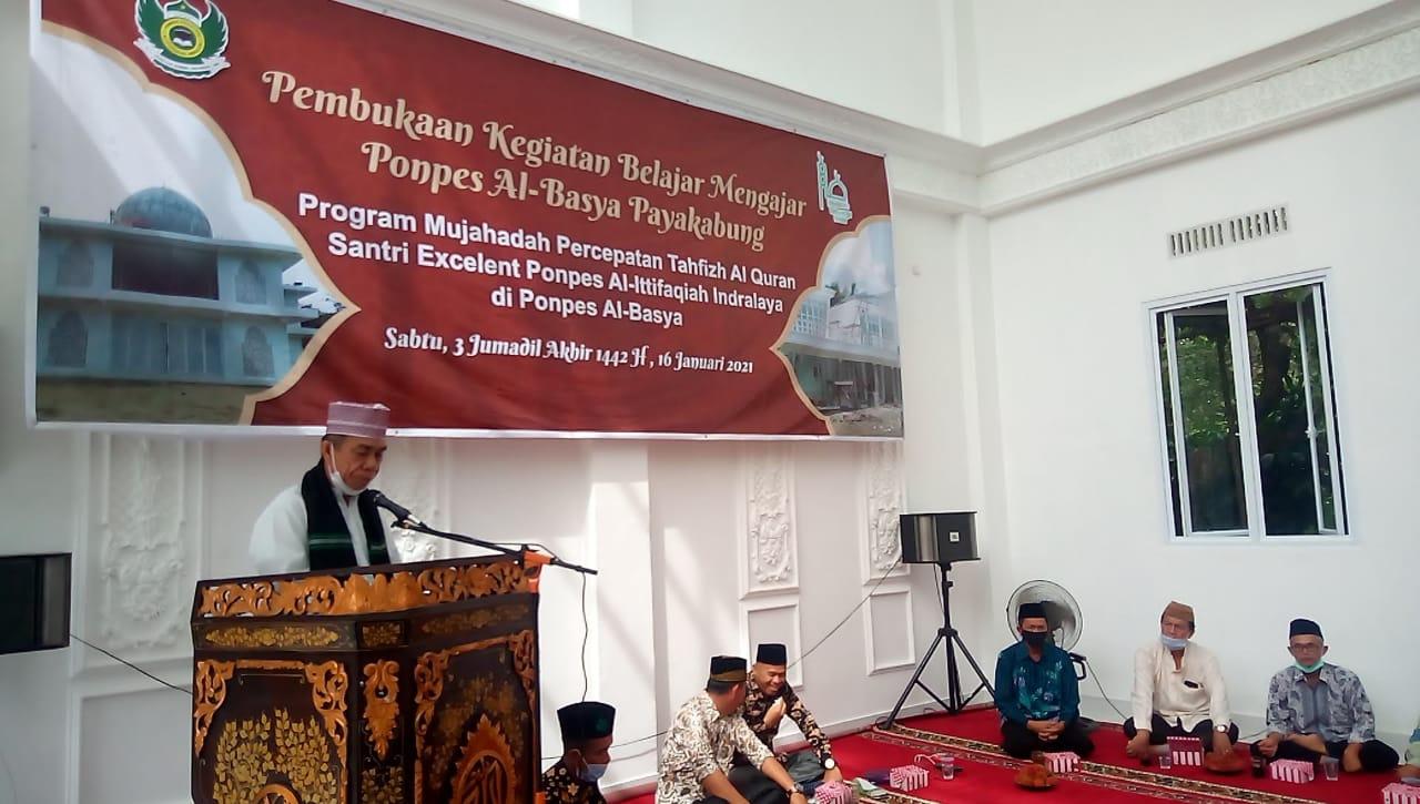 Santriwan Excellent Al-Quran, Warnai KBM Ponpes Al-Basya Payakabung