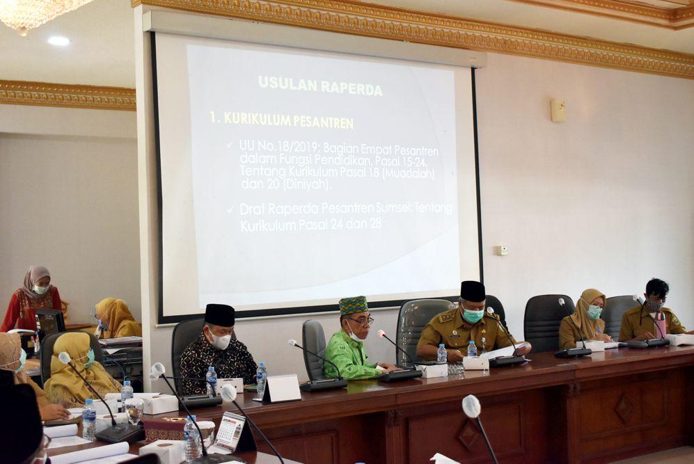 Jajak Pendapat Pansus I DPRD Sumsel, Mudir Al-Ittifaqiah Keluarkan Sumpah