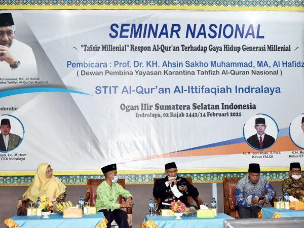 Seminar Nasional, STITQI Hadirkan Rektor PTIQ Jakarta