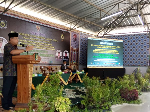 Berikan Kuliah Umum, Bupati Muba Dodi Reza Alex : Al-Ittifaqiah Kami Jadikan Role Model bagi Pesantren di Muba