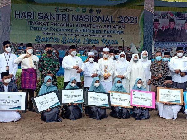 Hari Santri, Ittifaqiah Kembali Raih Penghargaan Menteri Agama